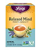 Yogi Relaxed Mind Tea, 16 Tea Bags (Pack of 6), Packaging May Vary