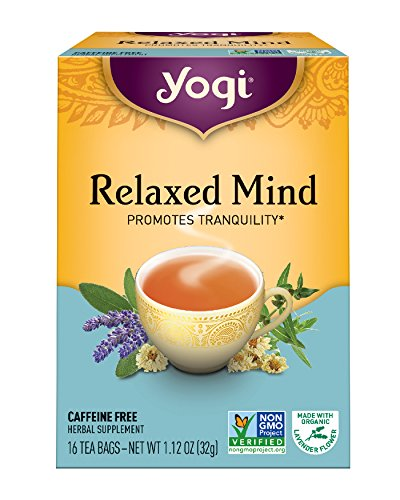 Yogi Tea, Relaxed Mind, 16 Count (Pack of 6), Packaging May (Western Food Ideas)