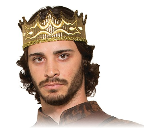 King Adult Crown - Forum Novelties Medieval Fantasy Crown for Adult
