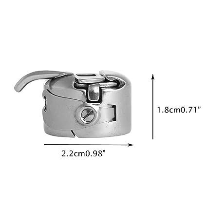 Homiki Canillero de Máquina Costura Accesorios de Coser Manualidades Compartible con Varias Máquinas