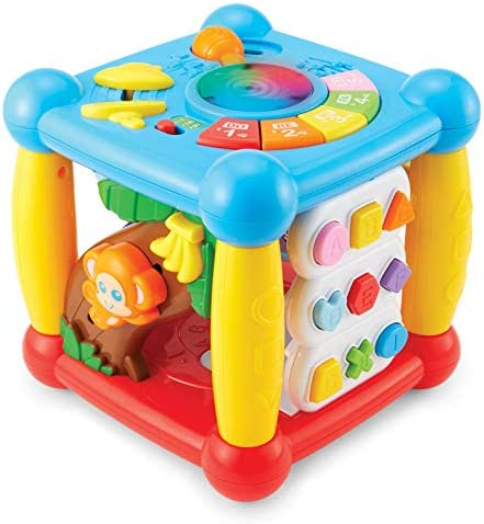 Kidoozie Lights Sounds Activity Cube product image