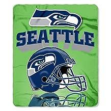 NFL Gridiron Fleece Throw, 50-inches x 60-inches