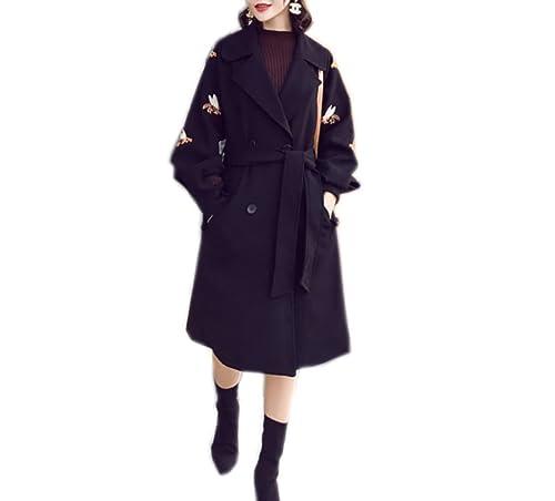 Abrigo Largo De Lana De Las Señoras Abrigo De Lana Rojo De Moda Abrigo De Lana