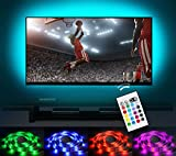 under cabinet hdtv - Bias Lighting LED TV Backlight Strip Emotionlite USB Powered Multi Color Changed (16 Colors) RGB Tape for 60