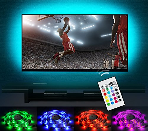 Bias Lighting LED TV Backlight Strip Emotionlite USB Powered Multi Color Changed RGB Tape for 60