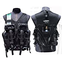 Trinity Vest Body Armor for Paintball Players with 4 Pod Pack and Tank Pouch
