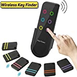 YAKOO Key Finder - Wireless RF Item Locator Wallet Locator Key Tracker Device Anti-Lost Tag Alarm Wireless Finders Pet Cell Phone Purse Luggage Locator Tracker Support Remote Control, 6in1