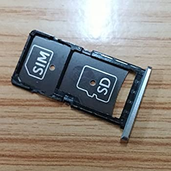 Dogxiong for Motorola Droid Turbo 2 / Moto X Force (XT1585 XT1580) Silver Sim Card Tray Holder Container Replacment Parts