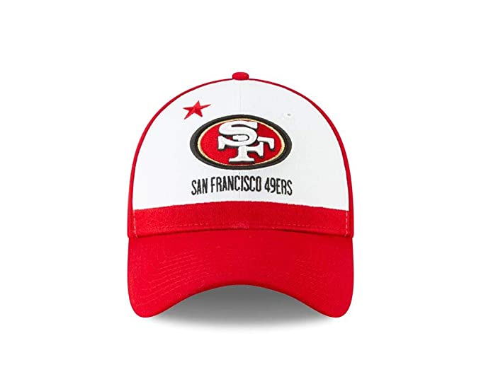 online retailer d45c3 6d3fc Amazon.com   New Era San Francisco 49ers 2019 NFL Draft On-Stage Official 39Thirty  Flex Hat   Clothing