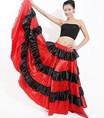 SMACO Falda de Danza de Baile, Falda de Danza de toros española ...