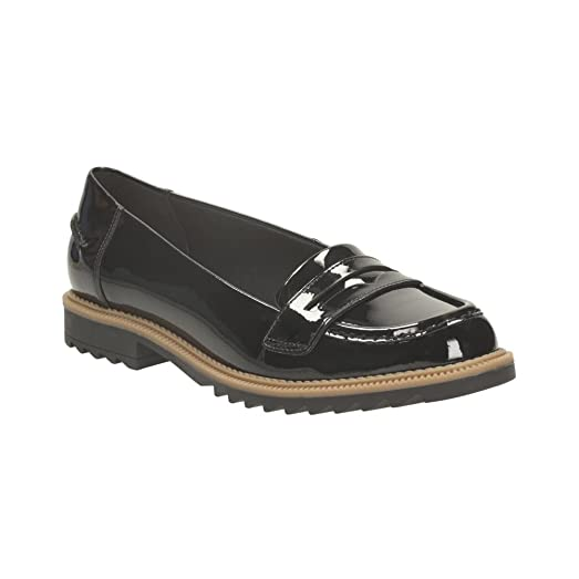 Clarks Griffin Milly Loafers Color Black  Women
