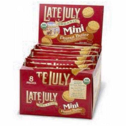Late July Mini Peanut Butter Sandwich Cracker (4x8x1.125Z)