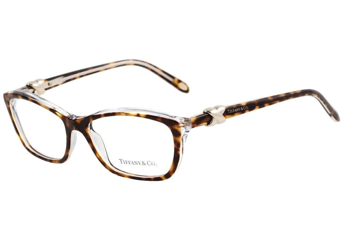 Tiffany 2074 Eyeglasses (54 mm, Dark Havana Frame) by Tiffany & Co.