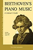 Beethoven's Piano Music: A Listener's Guide - Unlocking the Masters Series No. 23