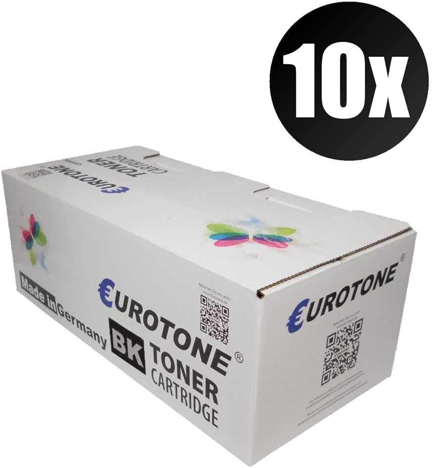 10x Eurotone Remanufactured Toner for HP Laserjet 2300 D DN L N DTN Replaces Q2610A 10A