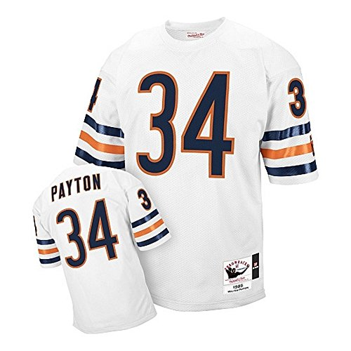 - Walter Payton Chicago Bears White Throwback Jersey Small