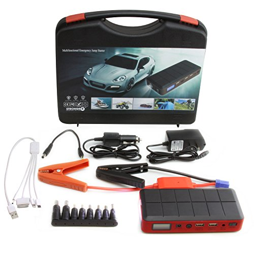 LB1 High Performance New Portable Car Jump Starter And Emergency Power Source Auto Start Power Bank Car Battery Charger With LED Flashlight For 12V Vehicles, iPhone 4, iPhone 5S, iPhone 6, Smartphones, Tablets, Digital Camera, Mp3 Player, Camcorder, Psp