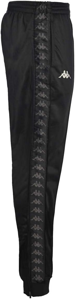 Pantalón de chándal para hombre KAPPA en tejido negro 303KUC0 ...