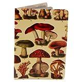 Wild Mushrooms Travel Passport Holder
