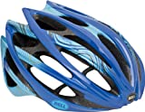 Cheap Bell Gage Swerve Bike Helmet (Blue/Gold, Large)