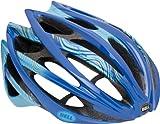 Bell Gage Swerve Bike Helmet (Blue/Gold, Large) For Sale
