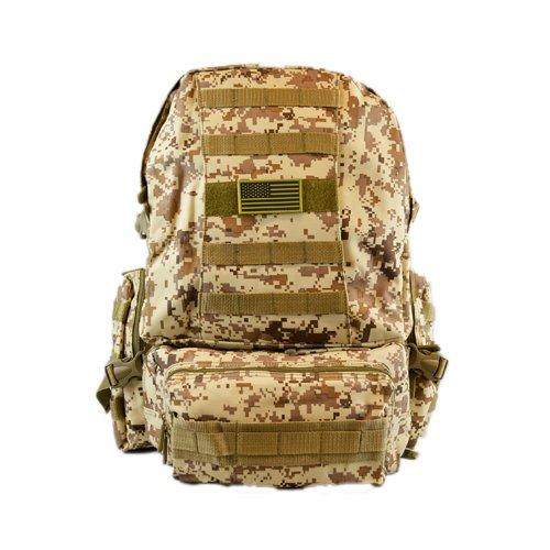 East West RTC508-TN ACU Outdoor  Sport Military Hiking Tactical Bag Tan Camo  order now enjoy big discount