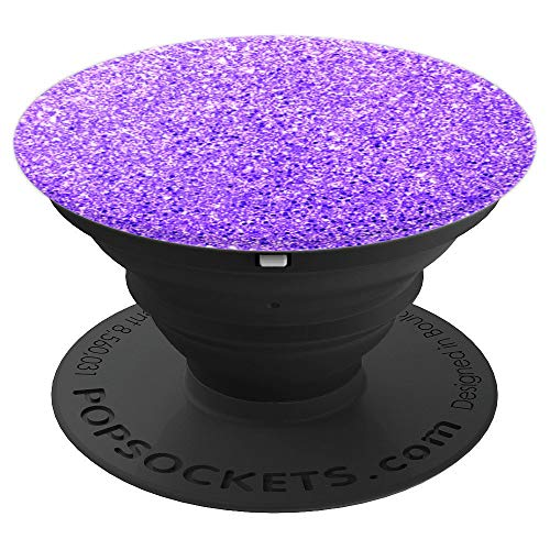 Purple Pop - Purple Phone Holder Knob - PopSockets Grip and Stand for Phones and Tablets