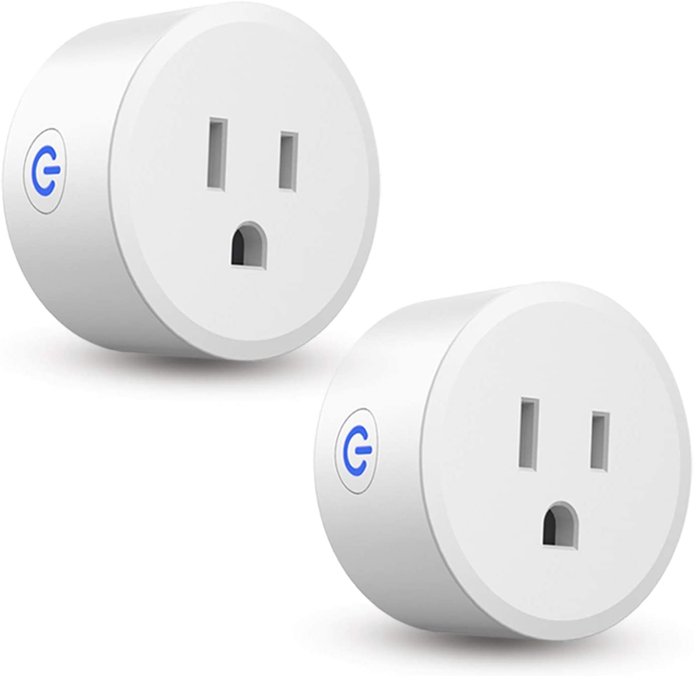 Zigbee Smart Plug, CMARS Mini Smart Outlet Compatible with Alexa, Echo, SmartThings Hub, Google Home, Control Your Home Devices Anywhere, Hub Required (2 PACK)