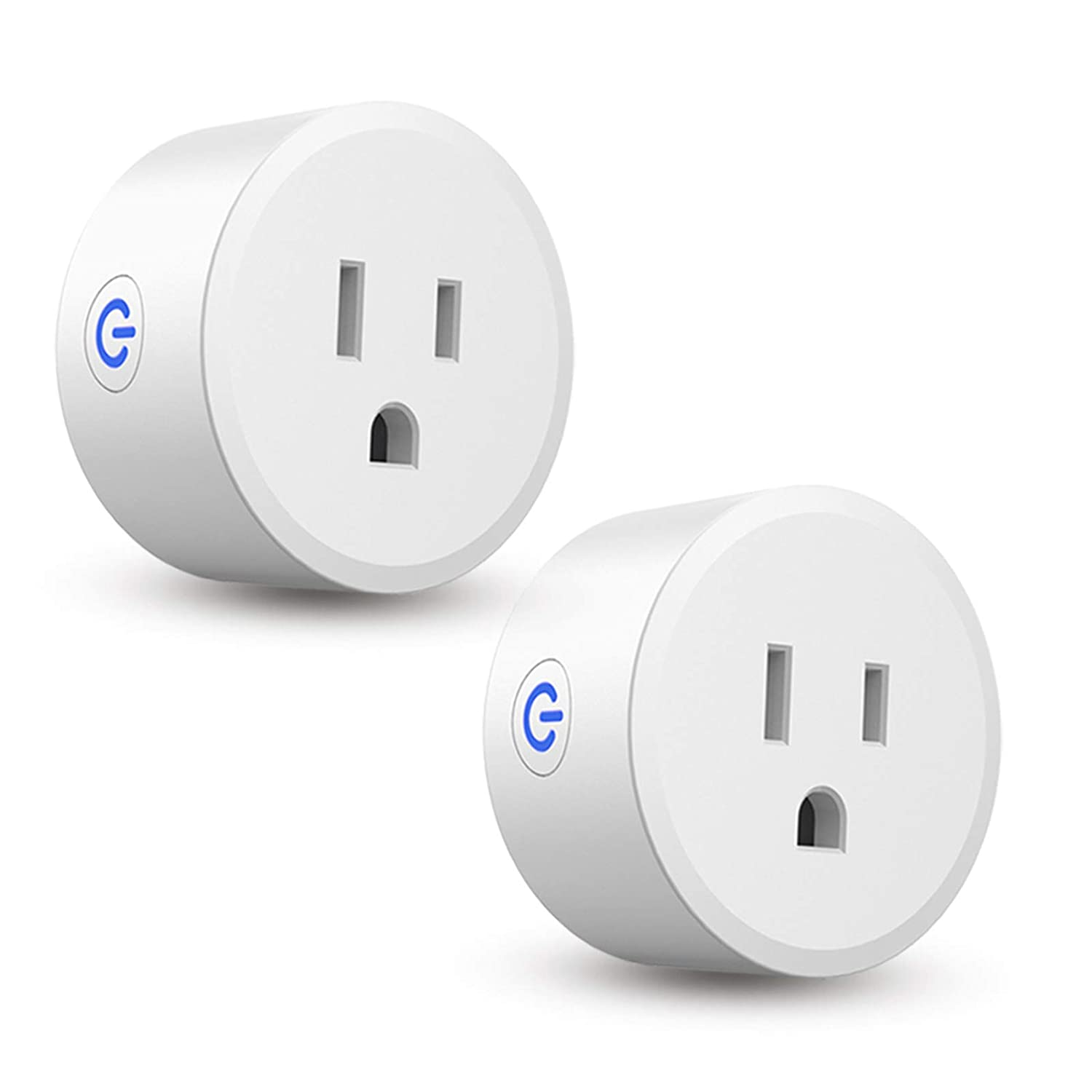 CMARS Smart Plug, ZigBee Switch Mini Smart Outlet Works with Alexa, SmartThings Hub, Echo (4th gen) Echo Plus (2nd) Google Home, Works as a Range Extender, Hub Required (2 Pack)