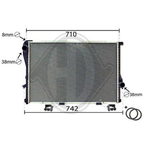 Diederichs DCM1555 Radiator, radiator: