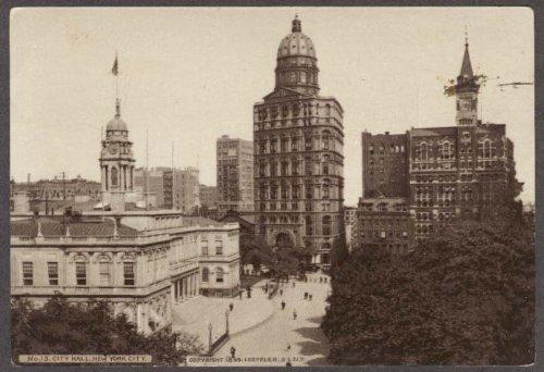 (New York City Hall Hood's Sarsaparilla trade card #13)