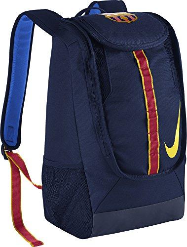 Nike FC Barcelona Allegiance Shield Compact Soccer Backpack  (Nike Sport Ball Carry Backpack)