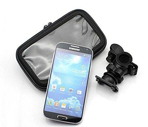 Montaje de la bici para Nokia 8 Sirocco, montaje del manillar para smartphones / teléfonos móviles, de aplicación universal. Conveniente para la bicicleta, motocicleta, quad, moto, etc. repelente al a