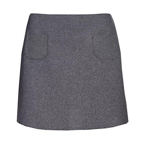 Unbekannt - Falda - recto - para mujer gris