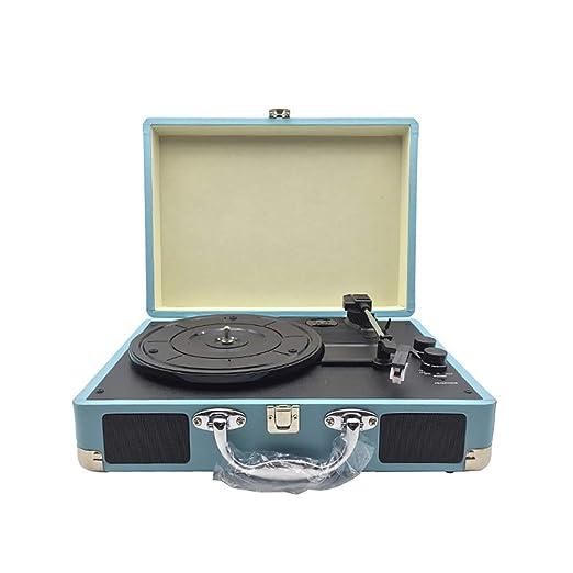 HXWS Tocadiscos, Tocadiscos Vintage, Reproductor de Vinilo de 3 ...