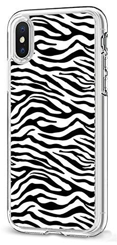 - Zebra Clear TPU Case for iPhone Xs/for iPhone X,Gifun [Anti-Slide] Soft TPU Flexible Protective Case Cover for iPhone Xs 2018/for iPhone X 2017 - Black Zebra