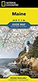 Maine (National Geographic Guide Map)