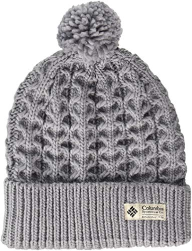 Hat Wool Columbia - Columbia Hideaway Haven Beanie, Astral, One Size