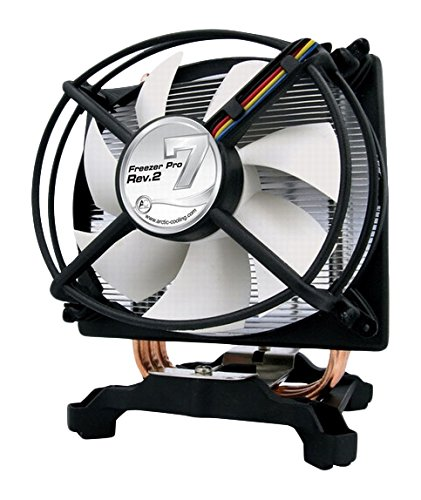 Arctic Cooling Freezer 7 Pro Rev.2 CPU Cooler Up to 130W Support both Intel and AMD (Freezer 7 Pro Cpu Cooler)