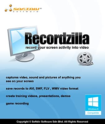 Recordzilla Screen Recorder [Download]