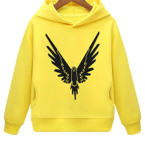Mustang Kids Be A Parrot Logan Hoodie with Side Pockets (Y,M)