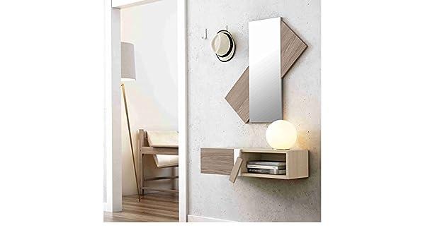 1043/7025. Mueble para RECIBIDOR con Espejo: Amazon.es: Hogar