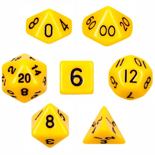 無料発送 7 Yellow Die Polyhedral Dice with Set - Solid Yellow B00BR3VAY4 with Velvet Pouch By Wiz Dice B00BR3VAY4, とっぷりさいくるモール:c049aaeb --- hohpartnership-com.access.secure-ssl-servers.biz