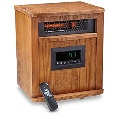 Lifesmart 6 Element Smart Boost Portable Infrared Quartz Electric Space Heater