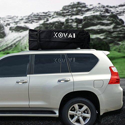 Kova Gear Rooftop Cargo Carrier Weatherproof Soft Bag (14.5 Cubic Ft Storage) by Kova Gear (Image #2)