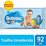 Toalha Umedecida Babysec Ultrafresh com 92 Unids