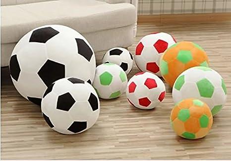 Balón de fútbol de peluche de pelo corto suave fútbol cojín ...