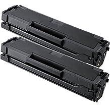 2 Pack SaveOnMany ® Samsung MLT-D111S MLTD111S New Compatible Toner Cartridge For Samsung 111S SL-M2020W SL-M2070FW SL-M2070W / Xpress M2020W M2070FW M2070W