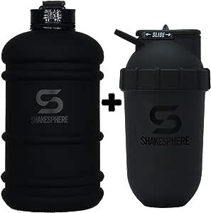 Shakesphere - Botella de agua de hidratación y vaso de 700 ...