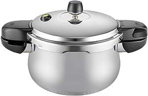 PN Poong Nyun HNHPC-04(IH) Pressure Cooker, 2.5L, silver